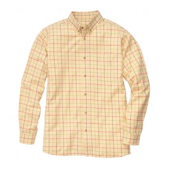 Tattersall Shirt - Yellow/Red/Blue